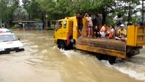 น้ำท่วม สวน 29 กรกฎา พุนพิน สุราษฎร์