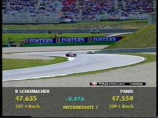 F1 2003 GP06 - AUSTRIA Spielberg - 2nd Qualifying