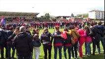 Rugby : la joie des joueurs de l'US Coarraze-Nay qualifiés pour les quarts de finale
