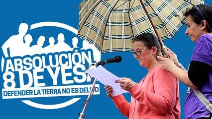 #Absolucion8deYesa - Las 8 de Yesa y discursos del final del evento