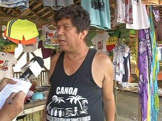 Richard Santana, trabajador de ALES Manta