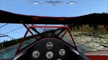 MS Flight PT-17 Stearman Alaskan Riverbed Run