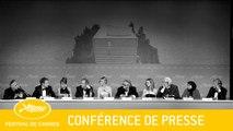JURY  - Press conference - VA - Cannes 2016