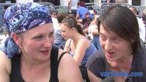 Toulon: les fans de Téléphone chantent avant le concert des Insus
