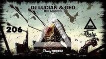 DJ LUCIAN & GEO - THE LEGEND #206 EDM electronic dance music records 2015