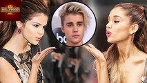 Selena Gomez And Ariana Grande Cute Moment At AMA 2016