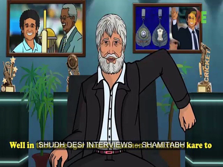 SHUDH DESI INTERVIEWS -- SHAMITABH