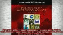 Free PDF Downlaod  Principles of Microeconomics Global Financial Crisis Edition with Global Economic Crisis  BOOK ONLINE