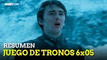"""Juego de tronos 6 - Reacción a """"The Door"""" Game of Thrones 6x05 """"El portón"""""""