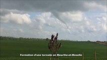 Formation d'une tornade en Meurthe-et-Moselle