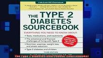 READ book  The Type 2 Diabetes Sourcebook Sourcebooks Full Free