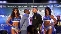 Lara vs. Martirosyan, Charlo vs. Trout, Charlo vs. Jackson face offs at final press conference