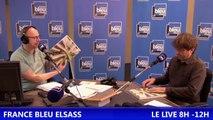 Live France Bleu Elsass du Lundi 23 mai