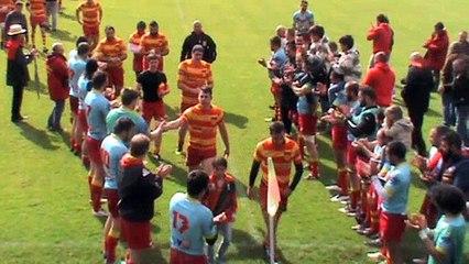 Rugby : Laloubère passe en 1/4 et chante