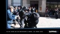 Un CRS lynché par des manifestants à Nantes, les images chocs