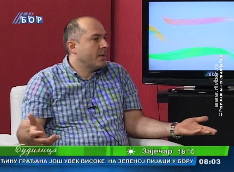 Budilica gostovanje (Saša Stanković), 23. maj 2016. (RTV Bor)