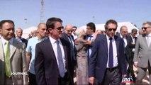 Manuel Valls promeut l'initiative de paix française en Israël