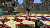 PAT And JEN PopularMMOs | Minecraft PopularMMOs New Girlfriend Jen Hunger Game - Custom Map