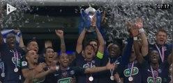 PSG, Manaudou, Montpellier : retour sur le week-end sportif en images
