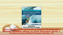 PDF  Elseviers Medical Laboratory Science Examination Review  Elsevier eBook on Intel Free Books