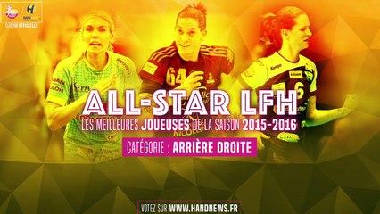 All star LFH 2015-2016 - Nominées Arrière Droite