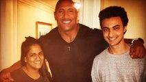 The ROCK Meets Salman's Sister Arpita & Aayush Sharma