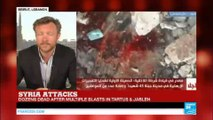 Syria attacks: Dozens dead after multiple blasts in Tartus and Jableh