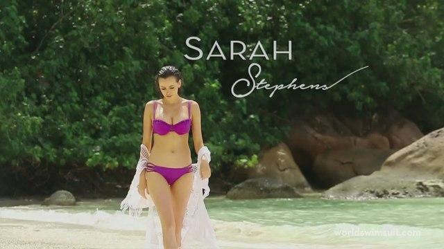Sarah Stephens - Victoria's Secret Swimsuit