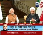 Narendra Modi and Iranian President Hassan Rouhani deliver joint statement in Tehran
