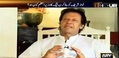 Watch Imran Khan's taunt to Waseem Badami on interrupting him again and again