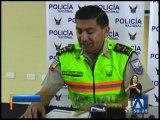 Más de 90 dosis de droga fueron incautadas en Tulcán