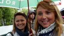 Roland-Garros sous la pluie : les fans optimistes !