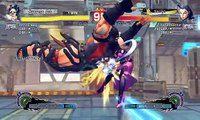 Ultra Street Fighter IV battle: Hugo vs Rose