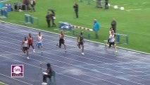 Finale M 100 m (Victoire de Christophe Lemaitre en 10''18)
