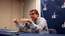 Wittman on John Wall Taking Criticism, Working Hard after Career-High 47 - March 25, 2013