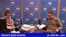 """Stéphane Riss, la recette du sandre au riesling du Restaurant Au bord du rhin """" Niemansland à Gerstheim"""