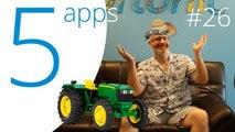 Score! Hero, Manowar, Square Quick, Bestie, and Farming Simulator 16, 5 Apps to Try