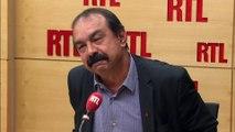 """Philippe Martinez : """"Le ministre de l'Intérieur devrait s'occuper un peu plus des casseurs"""""""
