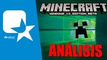 Analizamos Minecraft Windows 10 Edition beta