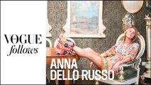 Anna Dello Russo :  une folle journée de Fashion Week     #VogueFollows     VOGUE PARIS