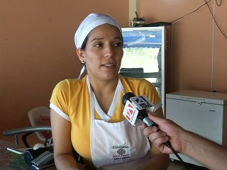 Jéssica Ponce, dulces de Rocafuerte