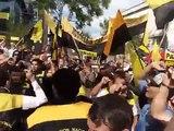 Marcha de Taxistas contra Uber - Taxi vs Uber (protesta) en Argentina