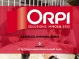 Agences immobilières à Limoges. ORPI, agence de la Mairie et agence du Centre.