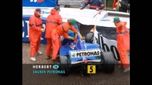 Formula 1 1997 Monaco Grand Prix - Michael Schumacher Wins in Wet