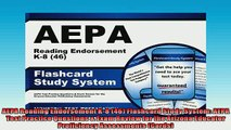 FREE DOWNLOAD  AEPA Reading Endorsement K8 46 Flashcard Study System AEPA Test Practice Questions   DOWNLOAD ONLINE
