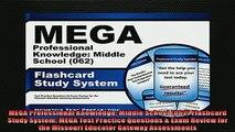 FREE DOWNLOAD  MEGA Professional Knowledge Middle School 062 Flashcard Study System MEGA Test  DOWNLOAD ONLINE