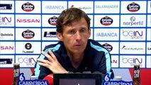 Rueda de prensa de Ziganda tras el CD Lugo (2-0) Bilbao Athletic