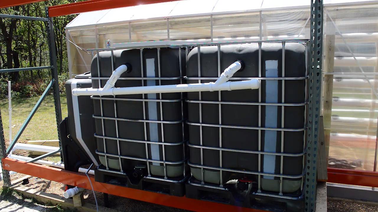 Off Grid Aquaponics Greenhouse Update 5/23/2016