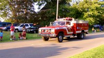 Shenango Township Fire Department's Rescue 29 At The Transfer Fair Parade!-(8/19/14!)