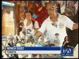 Comerciantes de Manabí esperan que los turistas lleguen en el feriado